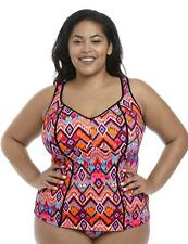Elomi Tribe Vibe Tankini Top 7571 New Womens Swimwear