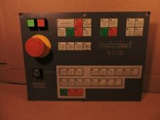 Fanuc A826-1358A Cnc Operator's Panel for Clausing Colchester Mastiff Lathe