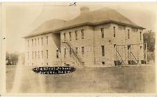 Scaffolding Central School Building SIDNEY NEBRASKA NE Vtg/Antique 1928 Photo