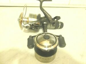 SHIMANO SUPER 10000 XTEA BAITRUNNER REEL + S/SPOOL IN GREAT CONDITION