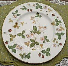 "Wedgwood ""Wild Strawberry"" Dinner Plate - Bone China"