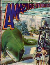 ORIGINAL October 1929 Bedsheet-sized 25c AMAZING STORIES 1920s Mag! Vol 4 No 7