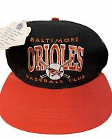 Vintage 90s Baltimore Orioles Rookie Club Baseball Club MLB Snapback Cap Hat