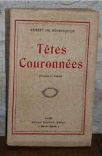 Robert de Montesquiou Têtes couronnées