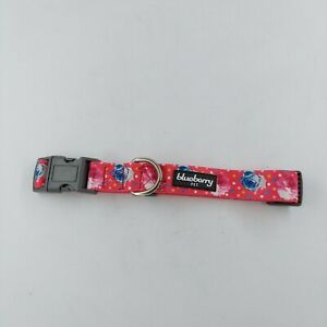 Blueberry Pet 11 Patterns Spring Scent Inspired Rose and Polka Dot Print Collar