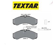 2912113 Kit pastiglie freno a disco ant.Iveco-Nissan (MARCA-TEXTAR)