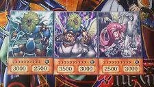 YuGiOh Orica/Anime Style Götterkarten 3x Sphinx