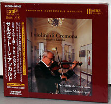 XRCD Master Music 24-NT009: Accardo, I Violini di Cremona, OOP 2011 JAPAN OBI SS