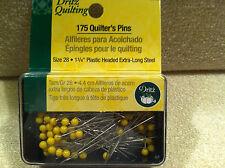 """Dritz Quilting - 1-3/4"""" Plastic Head Pins - Size 28 - Quan. 175 - MPN 3005"""