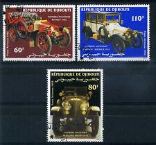 DJIBOUTI 1983 timbres aériens 190/192 voitures oblitéré