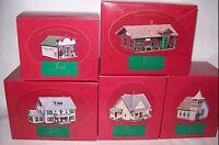 HALLMARK THE SARAH PLAIN & TALL COLLECTION 1994 VILLAGE YOU CHOOSE USED W/ BOX
