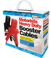 2m 165 Amp Battery Booster Cable Jump Start Leads (Vans & Cars up to 1600cc) #2B