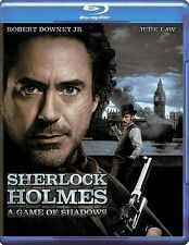Sherlock Holmes: A Game of Shadows (Blu-ray Disc, 2012) New factory seal see des