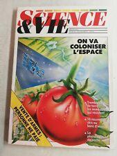 N115 Science et Vie N°818 nov 1985 on va coloniser l'espace, vente d'armes....