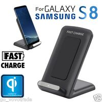 Qi Fast Wireless Charger Rapid Charging Stand for Samsung Galaxy S9 / S9 Plus AU