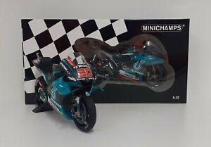 MINICHAMPS 1:12 Model Moto Yamaha M1 Petronas Quartararo Motogp 2019 Diecast