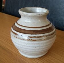 Small Collectable Glazed Studio Pottery Pot Perfect Signed