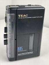 Teac Portable Cassette Walkman model PP-20 - Tested & Works