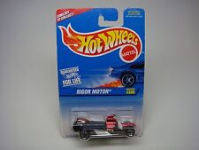 HOT WHEELS-RIGOR MOTOR #300 BLACK-RED MOTOR-
