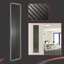 "360mm (W) x 1850mm (h) ""Corwen"" negro vertical Radiador 3006 Btu 5 paneles planos"
