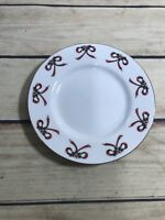 Gibson Everyday Housewares BOW HOLLY BERRIES Salad Plate 1 Pc