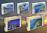 Puzzle Italia Paesaggi collection 1000 pezzi -Giocattoli Bambini e Adulti 50x70