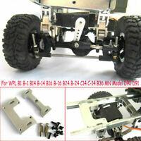 Upgrade Metal Fixing Plate Part For WPL B1 B-1 B-16 B24 C14 B36 MN Model D90 D91