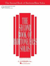The Second Book of Baritone Bass Solos Book with Online Audio - Vocal 050483792