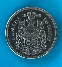 Canada 50 Cents coin 1968