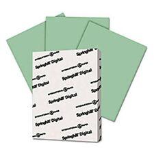Cardstock -  Green Springhill Digital Vellum Bristol Cover