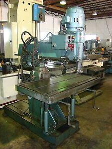 "JOHANSSON 36"" Radial Arm Drill Press"