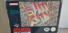 Nintendo Snes Sim City Gig Pal Super Nintendo