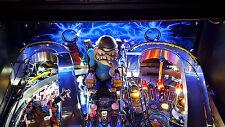 Fish Tales, Metallica, Batman 66 Pinball Machine backboard light Mod