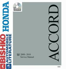 2008 2009 2010 Honda Accord Shop Service Repair Manual CD Engine Drivetrain OEM