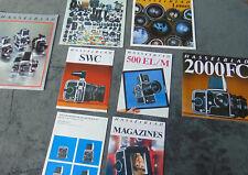 Hasselblad Mix Vintage Brochure Lot Photography Photographic Literature