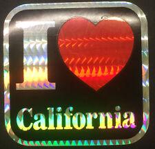 I Love California Sticker (NEW)