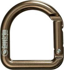 Casstrom 10110 Auntique Brass Dangler Style Carabiner Camping