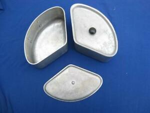 Triple three part saucepan section  Lid or pan  Spare  Save fuel Camping or home