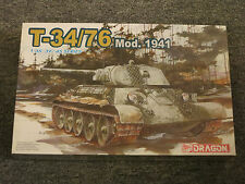 Dragon 1:35 T-34/76 Mod.1941 Model Kit #6205 '39-'45 Series NEW