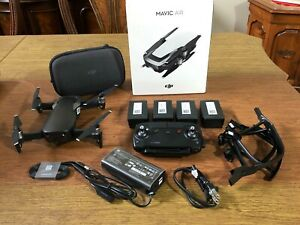 DJI Mavic Air Foldable 4k Drone in mint condition with 3 additional batteries