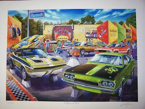 PLYMOUTH 'CUDA ROAD RUNNER ART 1970 1971 RAPID TRANSIT 340 383 440 DON THE SNAKE