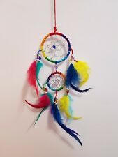 Feng Shui Dream Catcher Rainbow 60mm includes story