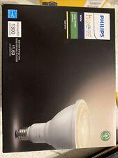 Philips Hue Outdoor Led Floodlight Light Bulb 1300 Lumen Par38 New! White