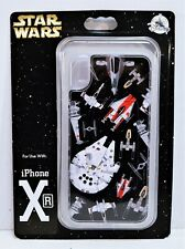Disney Exclusive Star Wars Millennium Falcon X Wing Apple Iphone 10 XR Case NEW