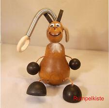 Schwingfigur Ziegenbock dunkel aus Holz - Unruhe - Jumper - Schwingtier w