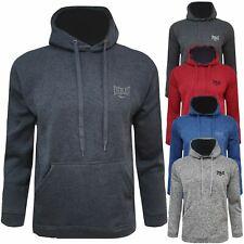 Mens New Fleece Lined Hoodie Everlast Hoody Hooded Sweatshirt Jumper Pullover