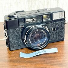 (For Parts For Repair) Konica C35AF2 D 35mm film point and shoot camera 00064