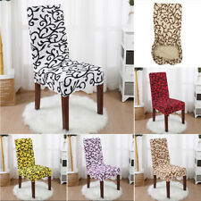 Floral  Dining Chair Covers Sofa Slipcover for Kitchen Wedding Party Decor