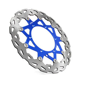 320mm Front Floating Brake Disc Rotor For TC125 FC250 TE300 FC450 FE250  Blue