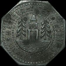 NOTGELD: 10 Pfennig. Funck 296.4. STADT LIEBAU / SCHLESIEN. LUBAWKA.